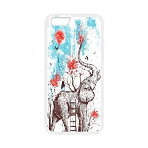 Best-Diy MENGYANX cell phone case cover - Custom Animal Elephant Pattern Proctive case cover protective case cover For Apple Iphone 6,4.7
