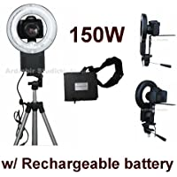 Camera 150W Macro, Portrait Ring Light for Nikon D90, DX, D90, D40, D60, D80, D70, D40x, D50, D70s, D300s, D700, D300, DX, D200, D100, D3000, D5000, D3s, D3x, D3, D1, D2x