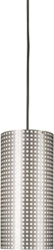 George Kovacs P5746-084, Grid, 1 Light Pendant, Brushed Nickel