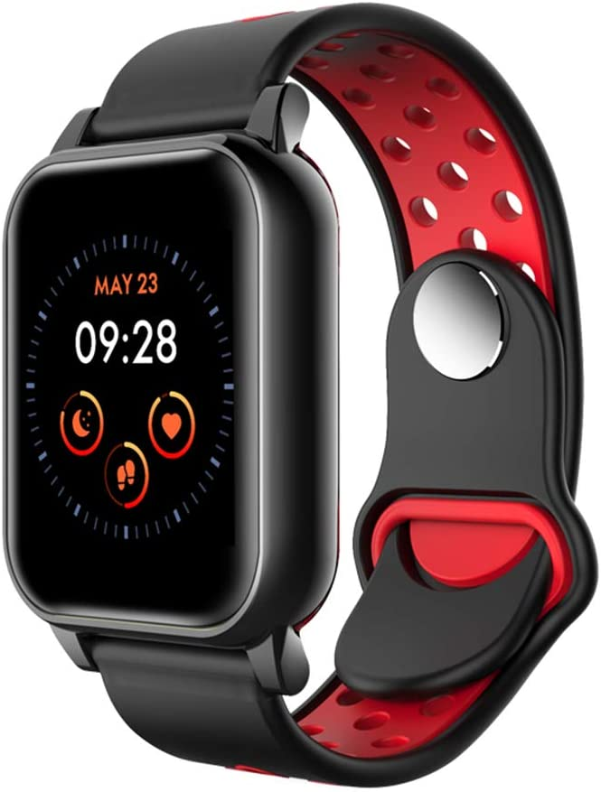 N\A Smartwatch, Reloj Inteligente con Pulsómetro, Cronómetro, Calorías, Monitor de Sueño, Podómetro Pulsera Actividad, El Reloj Impermeable IP67 es Adecuado para Android iOS Huawei Samsung Xiaomi
