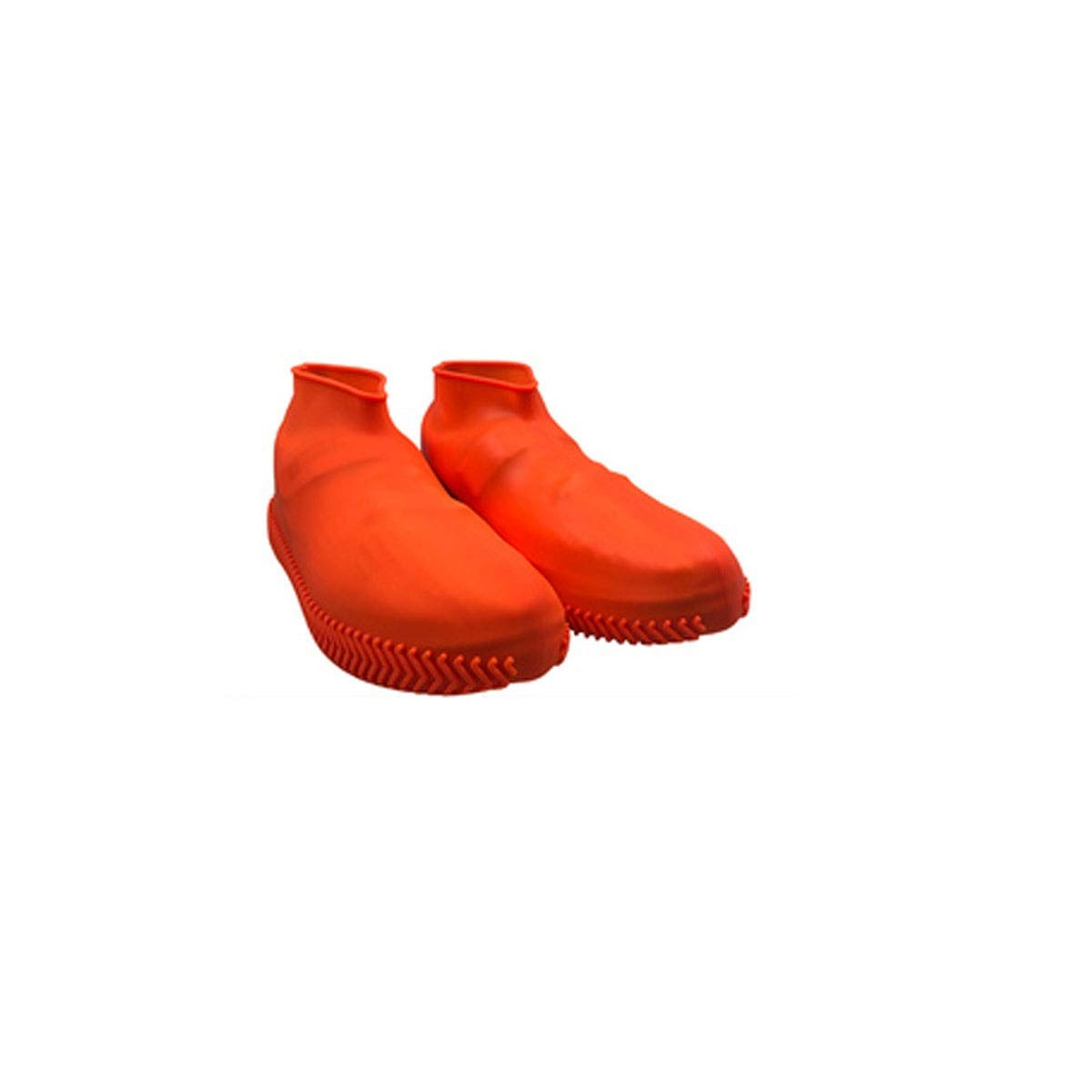 WUHUIZHENJINGXIAOBU Waterproof Shoe Cover, rain-Proof Water-Like Rubber wear-Resistant Shoe Bag, Free to Choose from a Variety of Colors Shoe Covers That can be Worn on Rainy Days,
