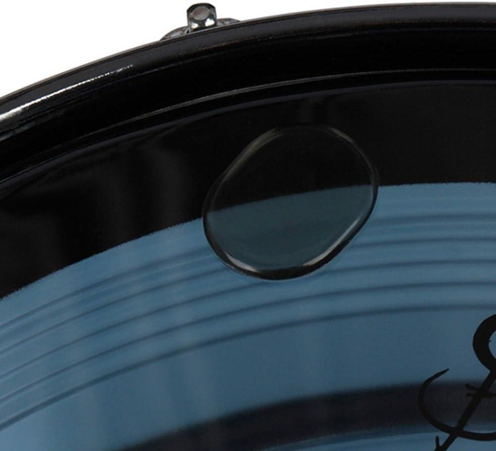 Transparent Silice Gel Tambour Silencieux Kit Snare Drum Silencieux Pad P/âte Tambour Amortissement Contr/ôle 6PCS Tambour Amortisseur Gel Pads