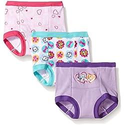 Nickelodeon Toddler Girls' Paw Patrol Girl 3pk Training Pant, Assorted, 3T