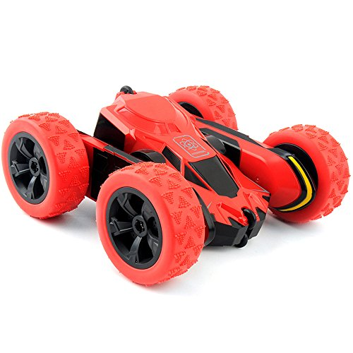 Rc Stunt Car  Playmont 1 28 2 4Ghz Remote Control Off Road Electric Race Vehicle Double Sided 360 Degree Rotating Car For Kids