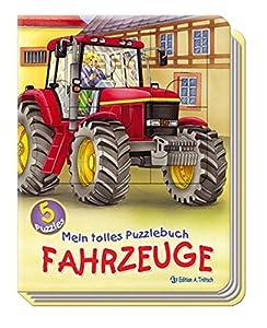 Mein tolles Puzzlebuch Fahrzeuge