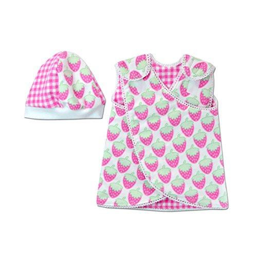 versible Nic-Dress - NICU Friendly (Strawberry Shortcake, Preemie (3-6lbs)) (6 Lb Strawberry)