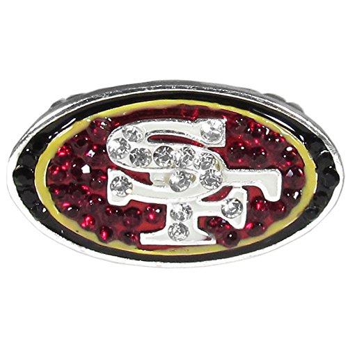 NFL San Francisco 49Ers Crystal Ring, Stretch