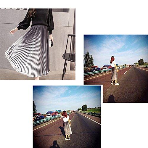 Vestido de la manera del verano para las mujeres,Una variedad de estilos y colores Blanco negro