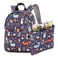 HooyFeel Kids Toddler Backpack Lightweight Preschool Travel Backpack Cute Printing for Baby Boys and Girls