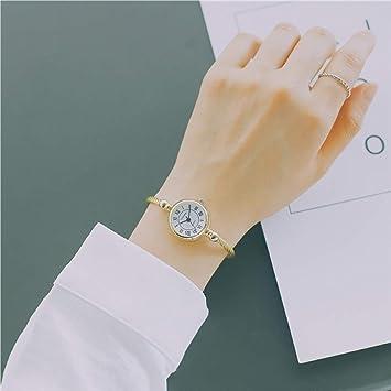 AKJQ Ins Personalidad Reloj Pulsera Mujer Middle School Student Version Coreana De La Simple Tendencia Ulzzang