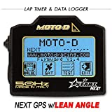 MOTO-D NEXT Motorcycle GPS Lap Timer w/ Built In Lean Angle (50HZ)