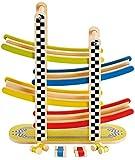 Hape Switchback Racetrack Kid's Wooden Car Racing Toy