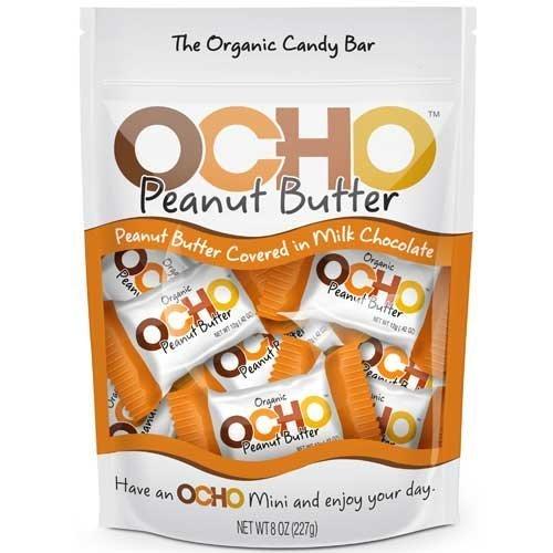 OCHO Mini Peanut Butter Pouch 8oz (Ocho Chocolate)