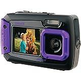 Coleman 2v9wp-P 20.0-Megapixel Duo2 Dual-Screen Waterproof Digital Camera (purple) 7.10in. x 6.30in. x 2.60in.
