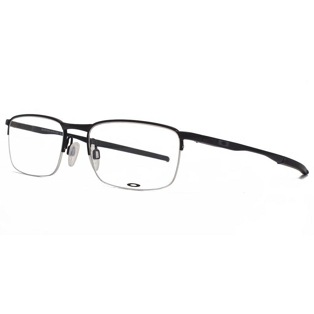 90839c9fd Oakley OX3174 Barrelhouse 0.5 Glasses in Matte Black OX3174 01 53:  Amazon.co.uk: Clothing