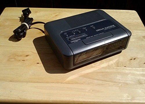 Sony Vintage Icf-c420 Am/fm Clock Radio with Dual Alarm Wood