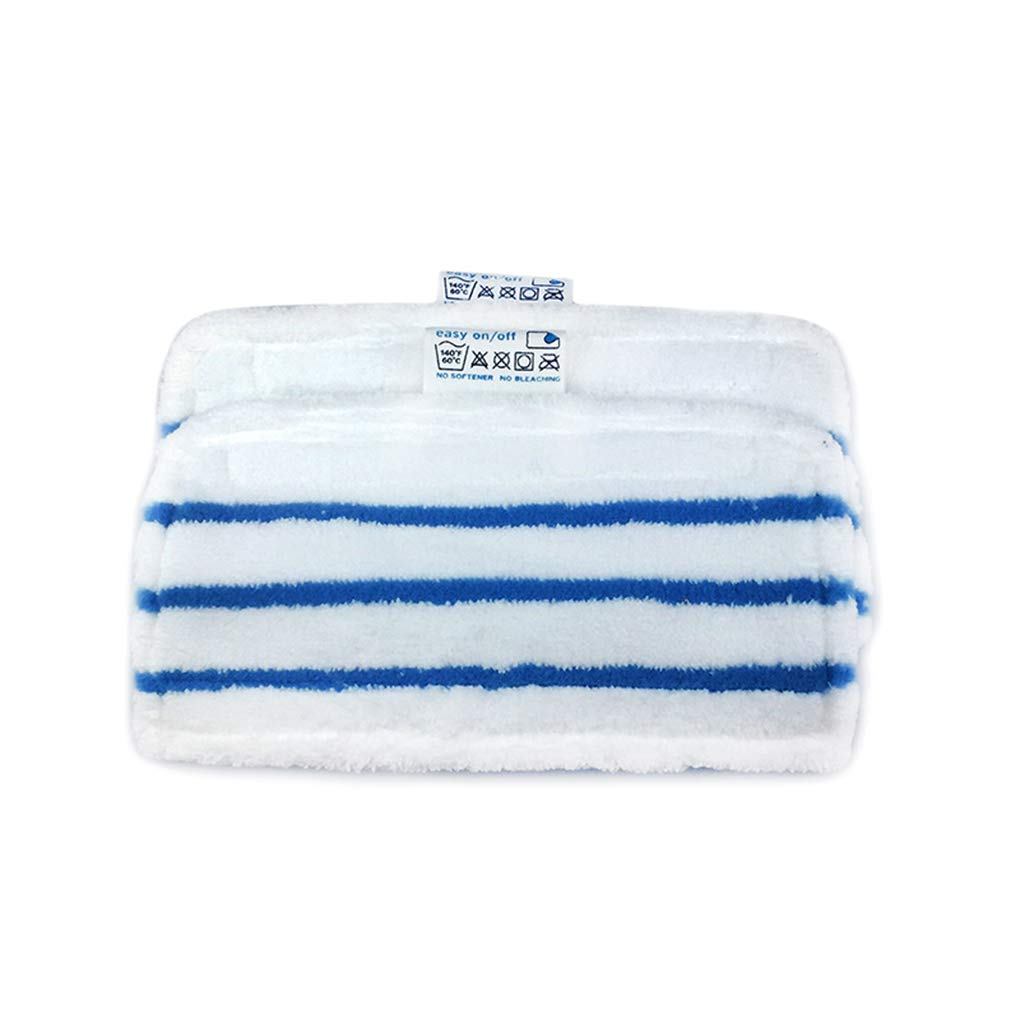 Lindahaot 1//2//5pcs Replacement for Black Decker Steam Mop FSM1610 FSM1630 Washable Reusable Mopping Cloth Microfiber Mop Pad blue white 280 160 10mm