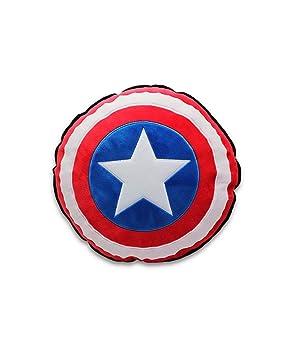 Horror-Shop Capitán América Escudo Almohada: Amazon.es ...