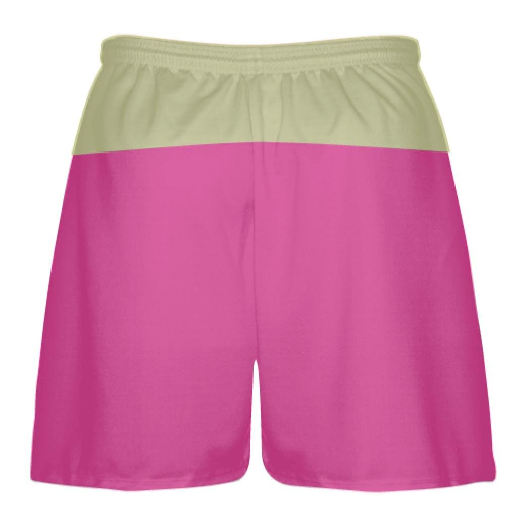 Youth Hot Vegas Gold Lax Shorts Pink Boys Mens Lacrosse Shorts Youth