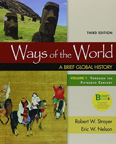 Loose-Leaf Version for Ways of the World, Volume 1 3e & Launchpad for Ways of the World 3e (Six Month Access)