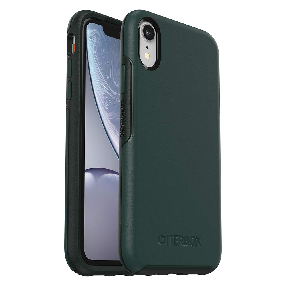 size 40 36c8d db82c OtterBox SYMMETRY SERIES Case for iPhone XR - Retail Packaging - IVY MEADOW  (TREKKING GREEN/SCARAB)