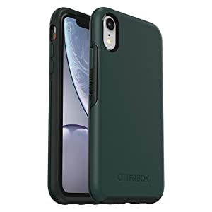 OtterBox SYMMETRY SERIES Case for iPhone XR - Retail Packaging - IVY MEADOW (TREKKING GREEN/SCARAB)