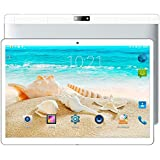 Hanbaili 10.1 inch 3G Phone Tablet PC Android 7.0 4G+64G HD IPS 19201200 Dual SIM Dual Camera Wifi Bluetooth OTG, support Google Play Store, Youtube - Silver