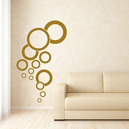 Vinyl Wall Decal Bubble Design Pattern Aquarium Bathroom Home Decor