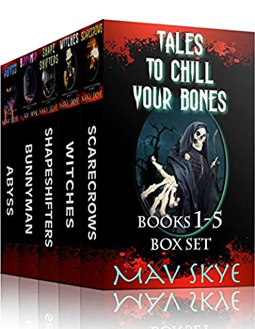 Tales to Chill Your Bones, Books 1-5 Box Set: A Horror Short Story Collection (3 Tales to Chill Your Bones Book (American Horror Story Box Set)
