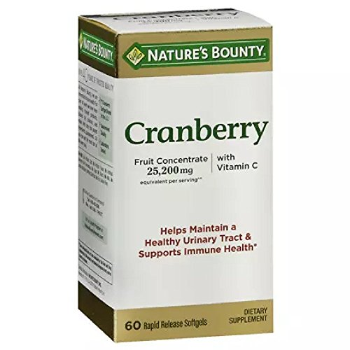 Natures Bounty Cranberry Dietary Supplement