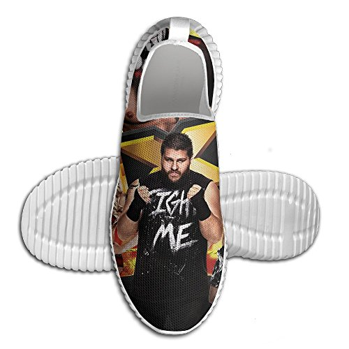 Men's Lightweight Running Shoes Walking Breathable Athletic WWE Diva Aj (2) Casual Shoe Sneakers by Homlife