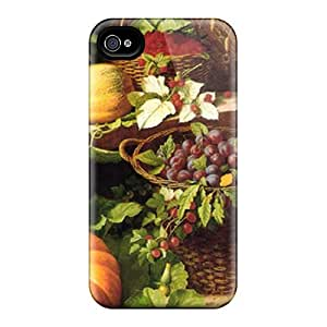 Perfect Fit GCv8350GVfA Harvest Time Case For Iphone - 4/4s