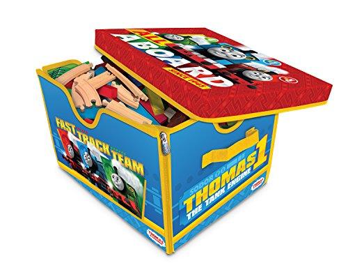 Neat-Oh Thomas & Friends Zipbin Toy Box & Playmate, Large (Train Box Toy)
