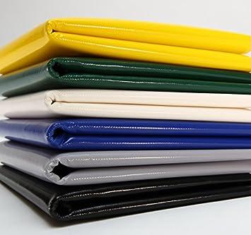 sin dobladillo. varios colores 720 g//m2 Amarillo Lona para camiones lona de PVC con ojales de 12 mm
