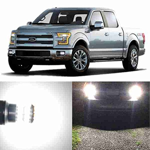 Alla Lighting Super Bright 912 White LED Bulbs Back Up Reverse Light for 2009~2014 Ford F150/2011~16 F250 F350 F450 F550/ F-250 Super Duty/F-350 Super Duty/F-450 Super Duty/F-550 Super Duty