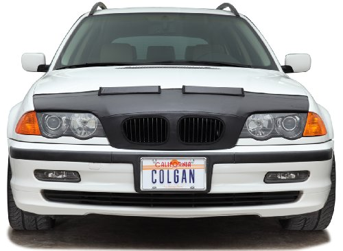 Colgan Custom Fit Sports Bra Front End Mask for Select Lexus RX330/RX350 Models - Vinyl (Black)