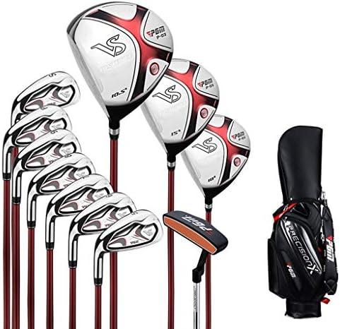 ゴルフスーツバッグ 11左利きゴルフバッグRクラスカーボンシャフト究極のゴルフセットのゴルフクラブコンプリートセット (Size : Carbon shaft)