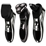 Beard Trimmer ROZIA Mens Electric Shaver,Electric Razor Cleaning...