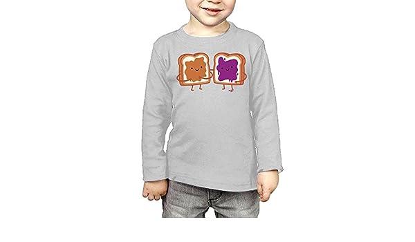 Toddler Peanut Butter Jelly ComfortSoft Long Sleeve T-Shirt