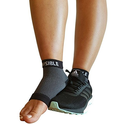 Amazon Best Seller - BeVisible Sports Plantar Fasciitis Socks - High Performance Compression Foot Sleeves With Arch Support For Men and Women - Helps Boost Circulation, Reduces Swellings For Foot and Heel Pain Relief