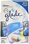 Glade Sense & Spray Automatic Air Freshener Refill, Clean Linen, 2 Ct, 0.86 Ounce