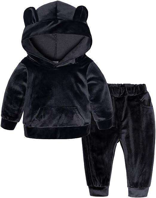 Long Pants Set 2PCS Outfits Set Baby Kids Boys Spiderman Tracksuit Hoodie Tops