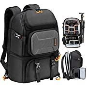 TARION Pro Camera Backpack Large with Laptop Compartment Tripod Holder Waterproof Raincover Outdoor Photography Hiking…