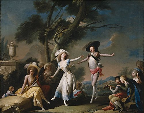 'Camaron Bonanat Jose A Festival  Ca. 1785 ' Oil Painting, 1