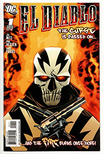 El Diablo #1 1st Appearance of Chato Santana (DC, 2008) VF/NM