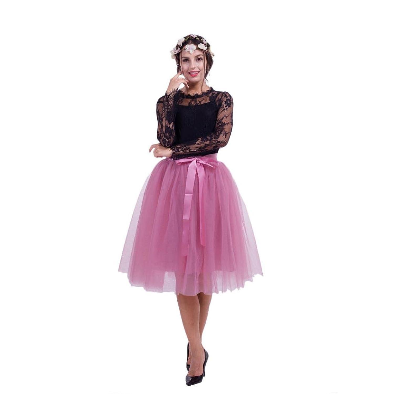 21a2e2b3f0ec Vectry Jahre Damen Petticoat Vintage Retro Reifrock Unterrock FürR ...