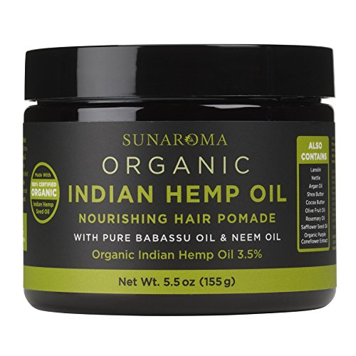 Indian hemp hair oil