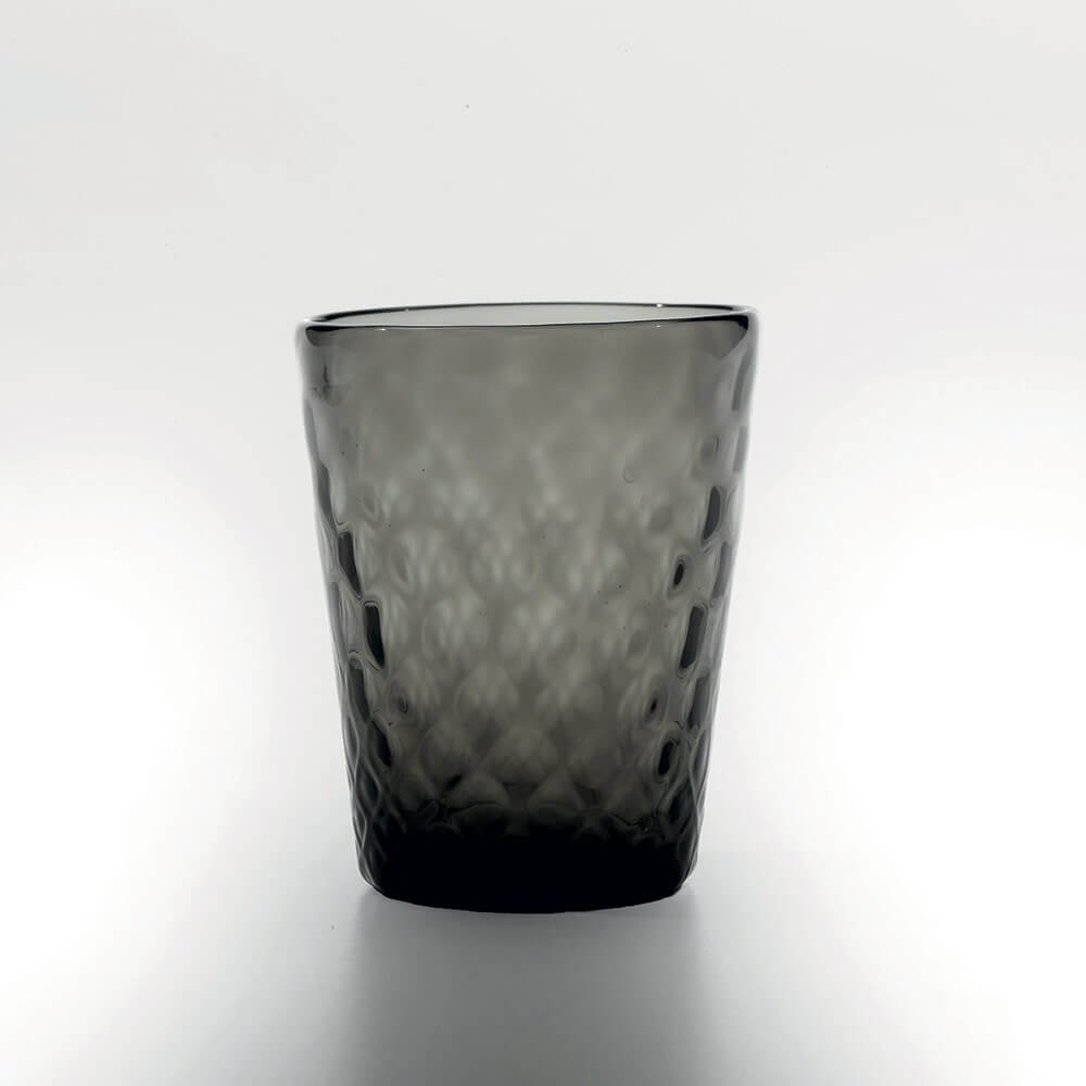Zafferano Set 6 Balloton Tumbler Bicchiere Acqua Grigio