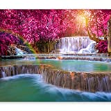 artgeist Photo Wallpaper Waterfall 157'x110' XXL Non-Woven Wall Mural Premium Print Fleece Picture Image Design Home Decor c-B-0128-a-a