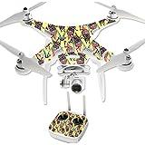 MightySkins Protective Vinyl Skin Decal for DJI Phantom 3 Professional Quadcopter Drone wrap cover sticker skins Electric Cicada